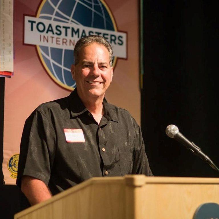 Robert Cravalho, Toastmasters
