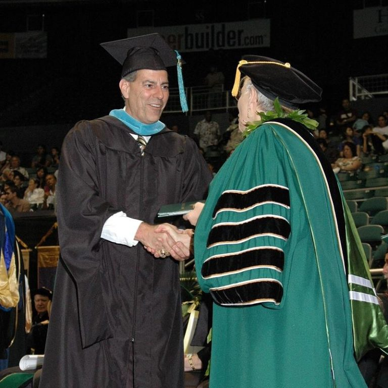 Robert Cravalho, MPA Graduation