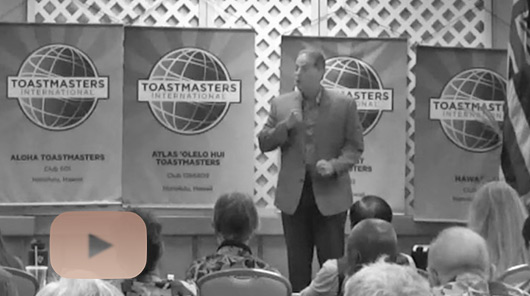 Robert Cravalho, Toastmasters Contest